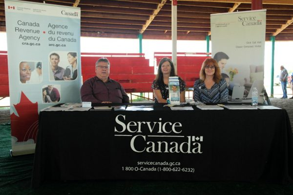 Service Canada Booth