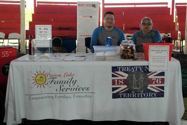 Family Services Booth