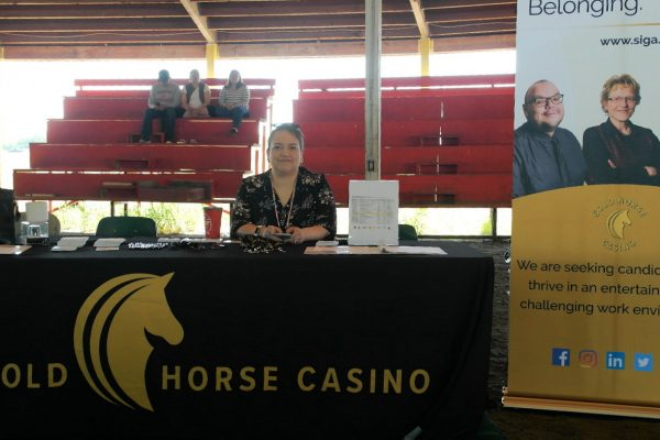 Gold Horse Booth